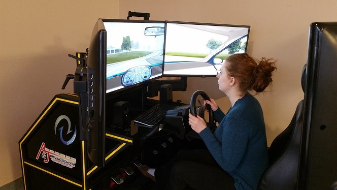 Advance Driving Simulator, AJ Driving School Edmonton